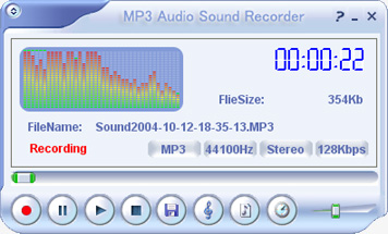 Make high-quality audio recordings from any internal or external source